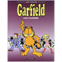 BD Garfield, Tome 38, Chat Académie