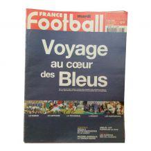 Lot de 23 magazines France football