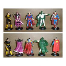 23 Figurines DC Eaglemoss en plomb, avec fascicules en Français