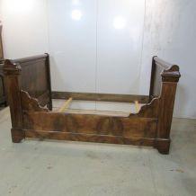 Lit ancien bateau à rouleaux, Louis Philippe