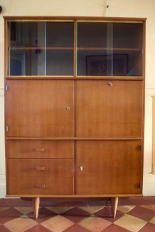 Secrétaire, vitrine type scandinave