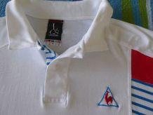 Polo blanc (M) neuf du COQ SPORTIF vintage 1990 (TBE)