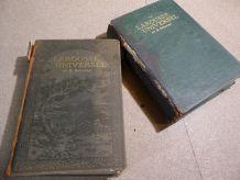 Larousse Universel - 2 volumes - 1922 / 1923