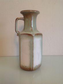 Vase hexagonal avec anse vintage Fat Lava Scheurich