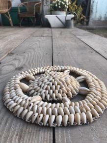 Dessous de plat coquillage