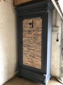 Armoire bar à vin