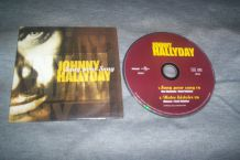 CD SINGLE 2 TITRES JOHNNY HALLYDAY