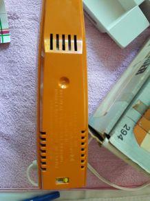 Couteau électrique Moulinex neuf vintage (orange)