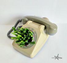 Cache pot - Téléphone Gris 1982