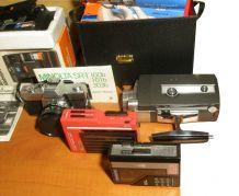 Lot de 8 équipements photo, vidéo, audio 1940-1980