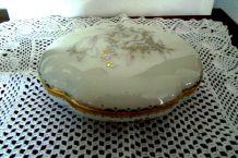 Grande Bonbonnière Début XXème -  superbe en porcelaine HAVILAND