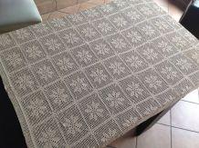 Nappe vintage rectangulaire au crochet