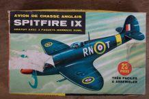 Maquette avion de chasse SPITFIRE IX