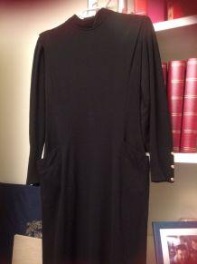 Robe noire vintage