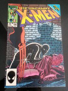 uncanny x-men n°196 vo - excellent état