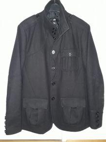 Caban noir H&M