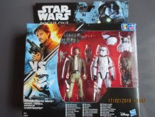 Pack de 2 figurines Star Wars Rogue One - Captain Cassian Andor et Stormtrooper