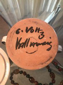Pot couvert VOLTZ Vallauris année 50