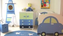 Chambre enfant évolutive complète en bois