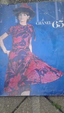 MAGAZINE ELLE 1965