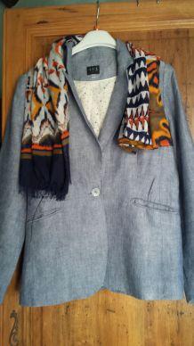veste lin de la marque 1.2.3