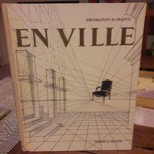 Livre décoration de France années 60