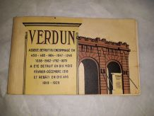 carnet de 20 cartes postales de Verdun 1929