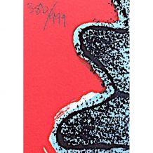 Lithographie de Corneille - Songe du diable - numérotée 380/