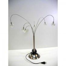 Lampe de Table 6 bras Jan des Bouvrie vintage