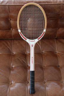"Raquette de tennis en bois ""COMET"""