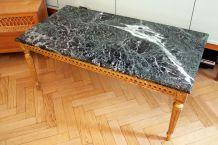 Table basse en marbre vert des Alpes des annèes 60/70