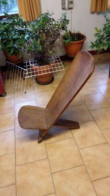 Paire de chaises Africaine en Linke