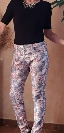 Pantalon Imprimé Place du Jour