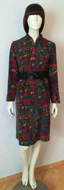 Robe vintage multicolore Gevana