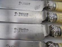 Ensemble de 5 couteaux anciens