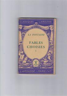 Livre fables choisies tome 1 Vintage