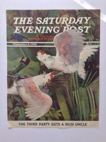 Perroquets - The Saturday Evening Post - Cover - September 3, 1938