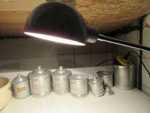 Lampe industrielle, atelier garage en tôle avec bras flexibl
