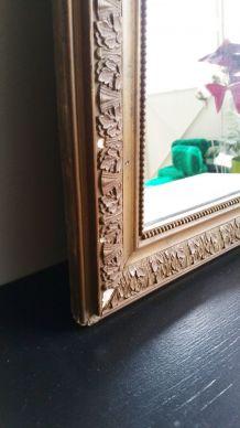 Petit miroir Louis-Philippe