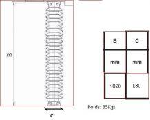 isolateur edf pour decoration ou ameublement