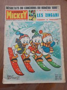 Le journal de Mickey N1023 1972