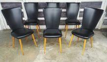 Série de 6 chaises vintages