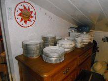 service complet porcelaine Limoges des années 1950