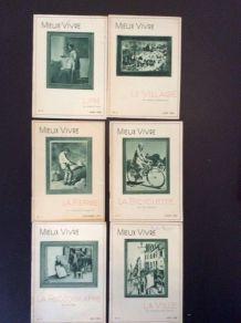Livrets thématiques 1937