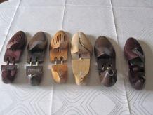 Embauchoirs chaussures en bois