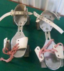 Ancien paire de patin roulette