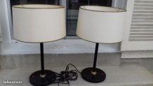 lot lampes bureau Deluxe 60s