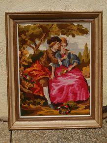 tableau canevas vintage