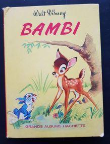 Livre enfant bamby