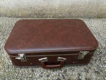 valise carton marron
